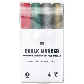 Tafelmarker Window Chalk Art, Set, Celebration