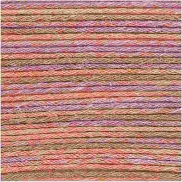 Baby Cotton Soft Print DK, orange-rosa