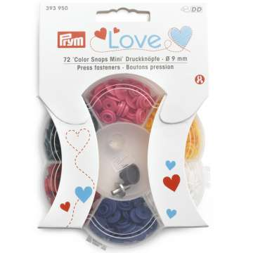 Prym Love Color Snaps Mini
